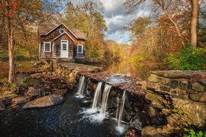 Фото бесплатно Истон, Коннектикут, осень