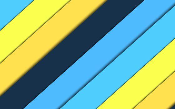 Бесплатные фото material,color,blue,линии,fhd-wallpaper-1920x1200