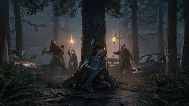 Фото бесплатно Одни из нас: Часть II, последний из нас, игры 2020 года