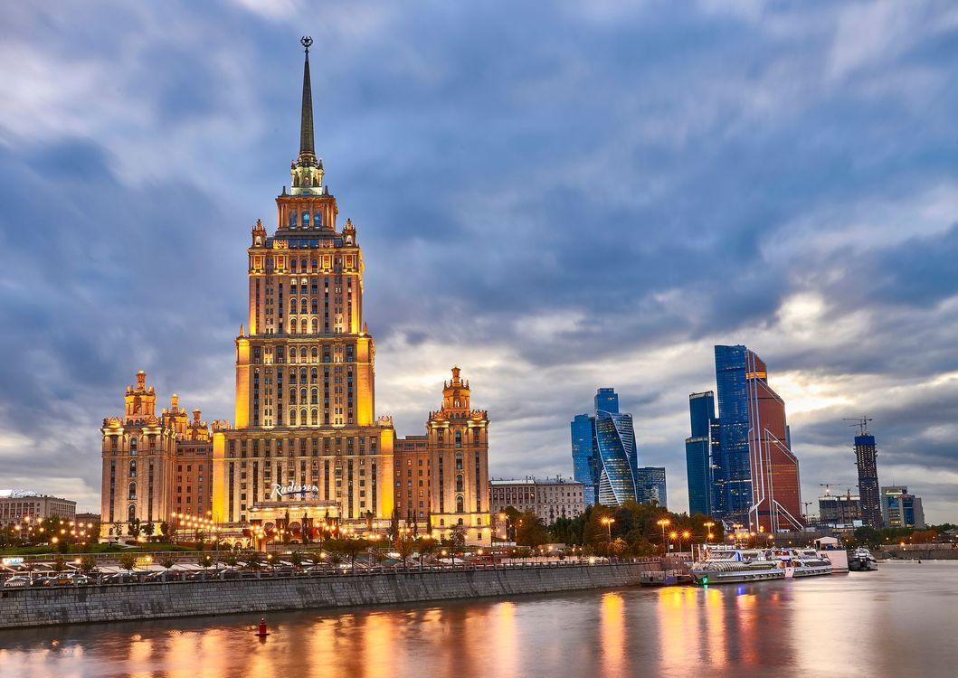 Фото бесплатно Гостиница Рэдиссон, Москва, Россия, город