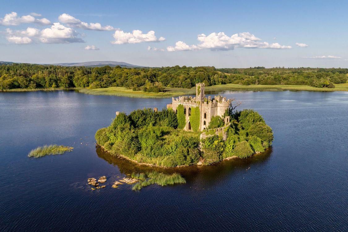 Обои Сказочный замок Лох-Ки, Ирландия, пейзаж картинки на телефон