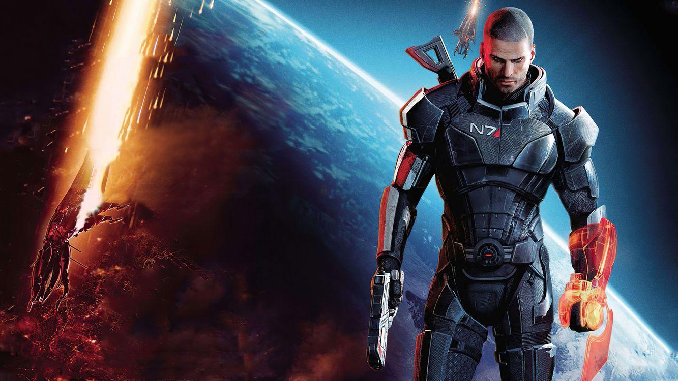 Фото бесплатно игры, Mass Effect - на рабочий стол