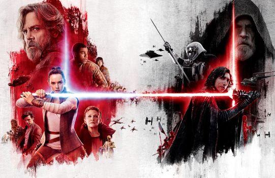 Фото бесплатно фильмы, постер, Star Wars The Last Jedi
