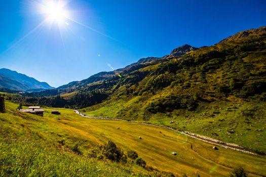 Фото бесплатно природа, Швейцария, солнце