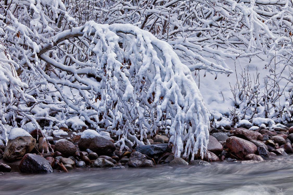 Фото бесплатно пейзаж, зима, скалы - на рабочий стол