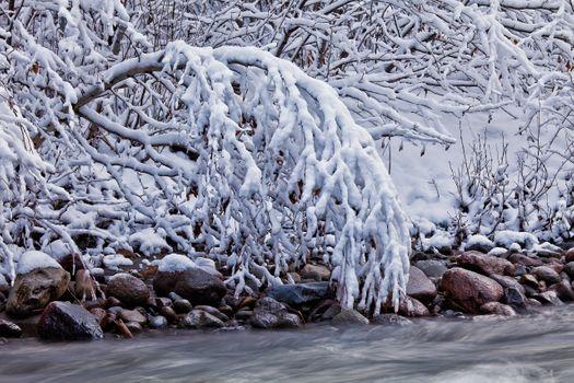 Фото бесплатно пейзаж, зима, скалы