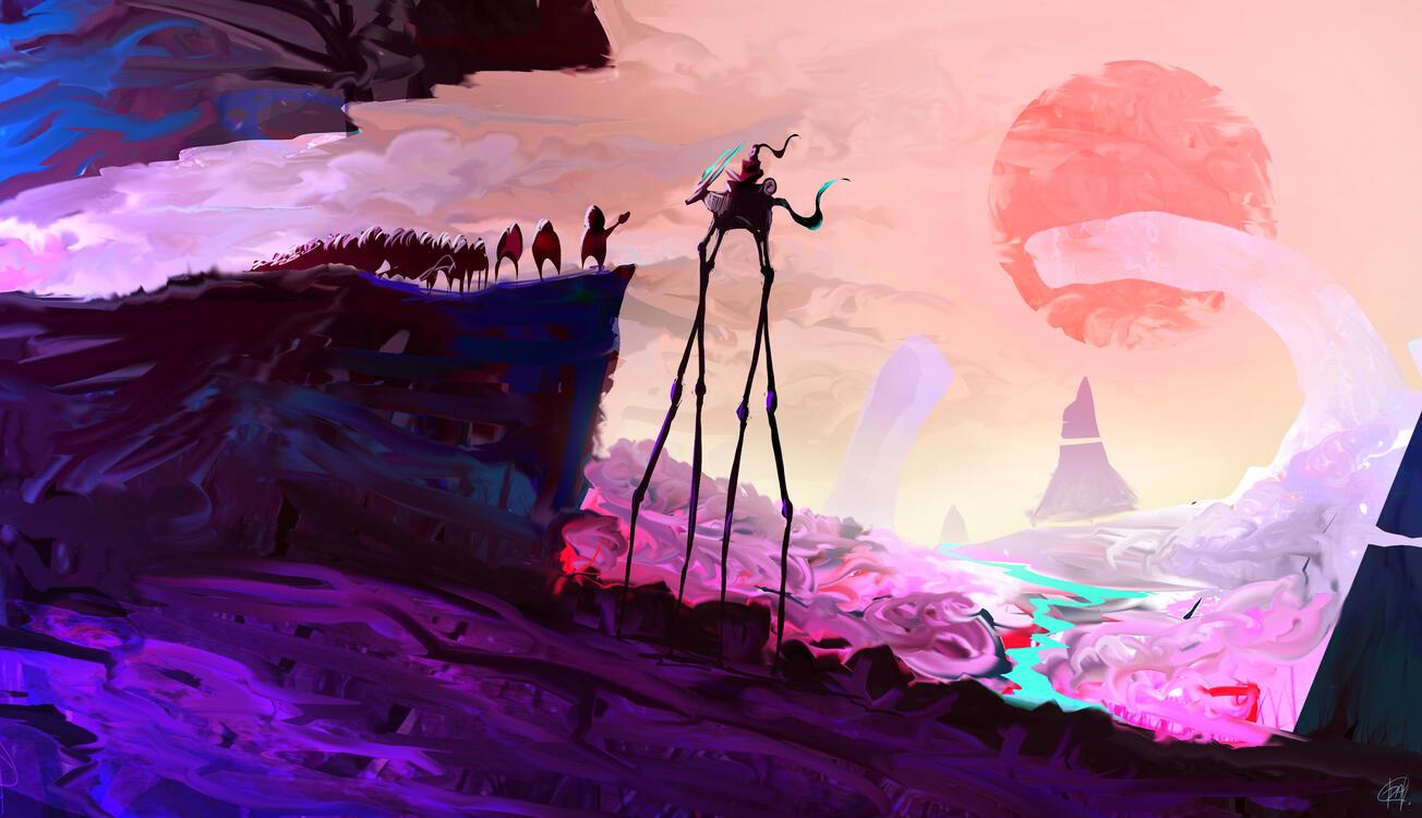 Фото космос девиант арт произведение искусства - бесплатные картинки на Fonwall
