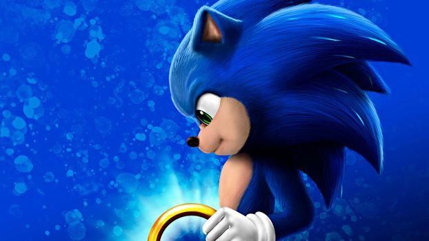 Photo free Sonic The Hedgehog, movies, 2020 Movies
