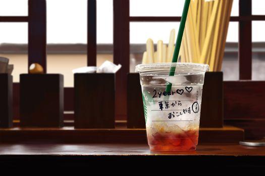 Фото бесплатно Старбакс, напитки, стакан
