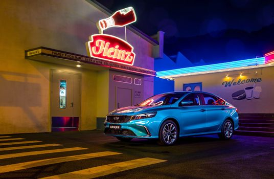 Фото бесплатно авто, голубой цвет, металлические