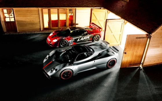 Photo free cars, Pagani Zonda, auto