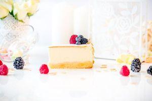 Бесплатные фото tort,chizkeik,kusok,iagody,malina,ezhevika