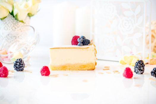 Photo free cake, cheesecake, piece