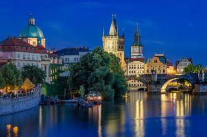 Бесплатные фото Чешская Республика, Карлов мост, Прага