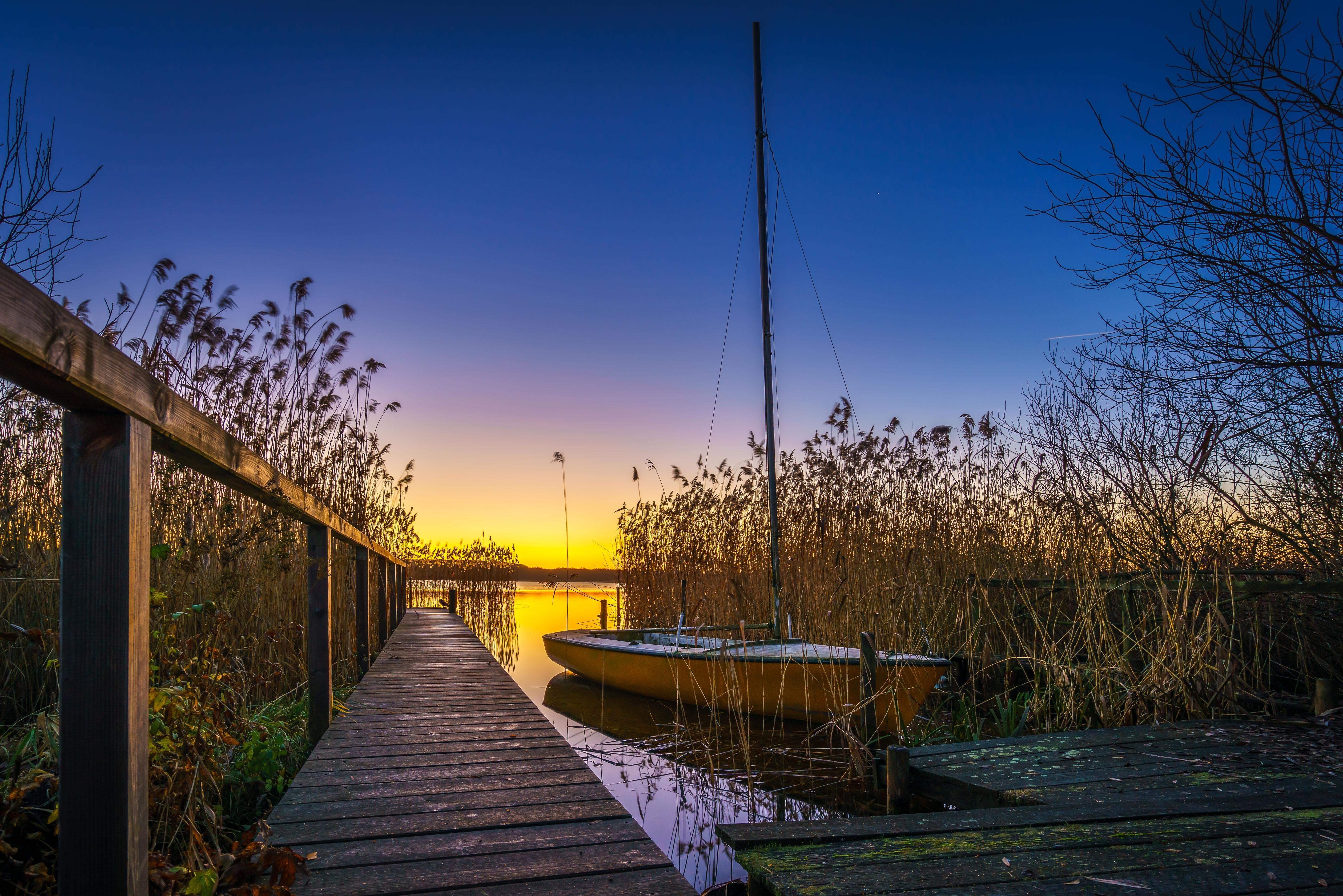 Обои озеро, Ratzeburg, Шлезвиг-Гольштейн, Германия
