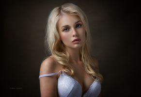 Фото бесплатно портретная фотосъёмка, модель, длинные волосы
