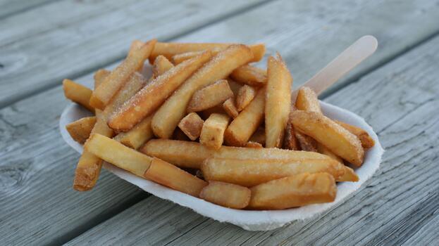 Photo free kitchen, eat, french fries