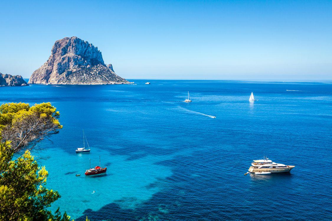 Фото бесплатно море, яхты, острова - на рабочий стол