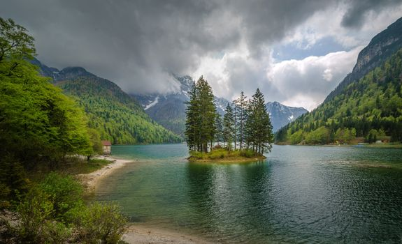 Photo free Lake Predil Tarvis, Italy, the Lake was Predil Tarvisio