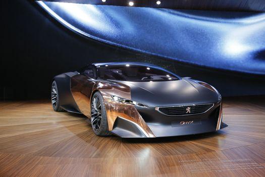 Фото бесплатно Peugeot Onyx, концептуальный дизайн, автомобили
