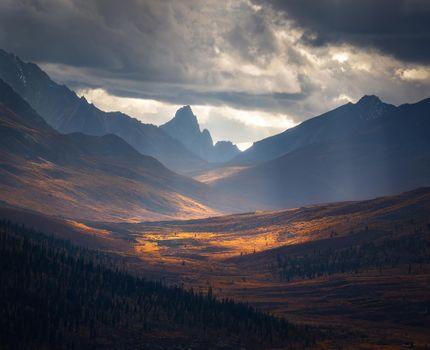 Фото бесплатно осень, ущелье, природа
