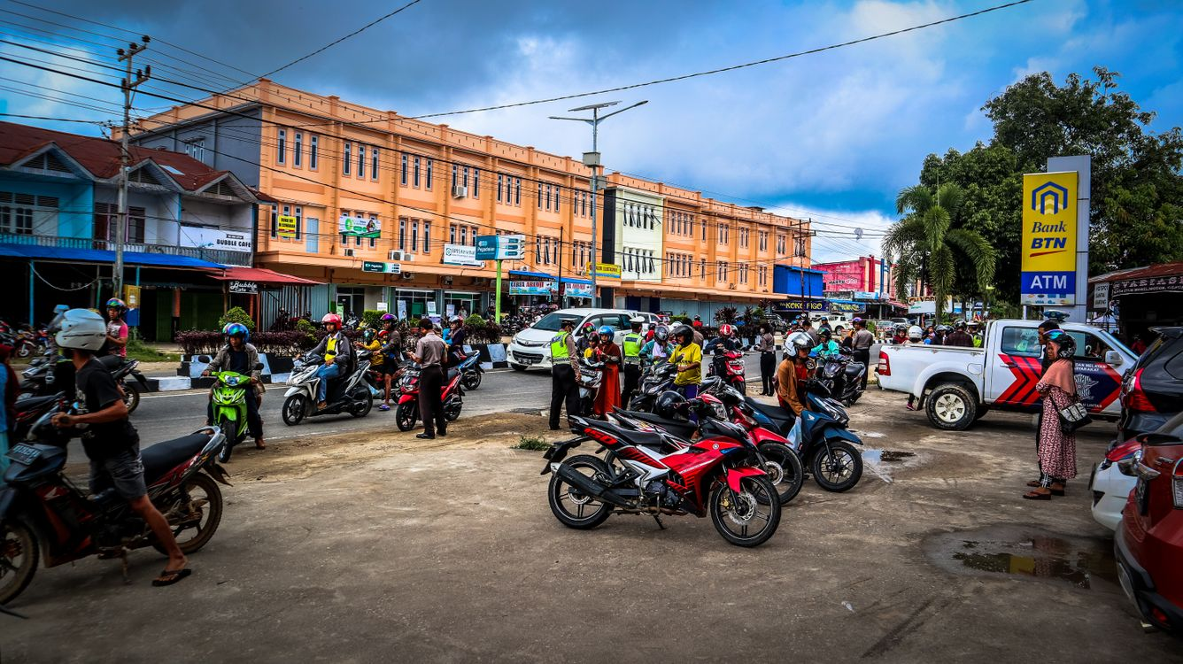 Photos for free photo, street, motorcycle - to the desktop