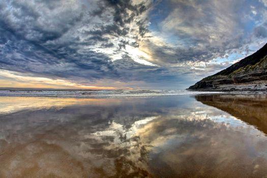 Photo free landscape, sky, coast