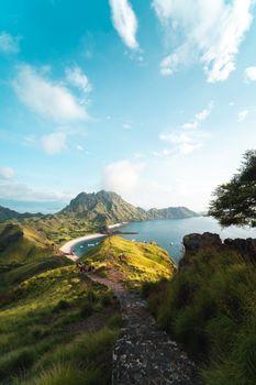 Фото бесплатно остров, холмы, берег