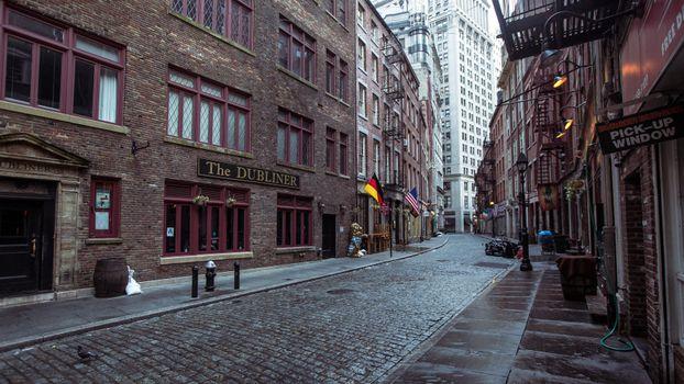 Photo free street, city, arcade