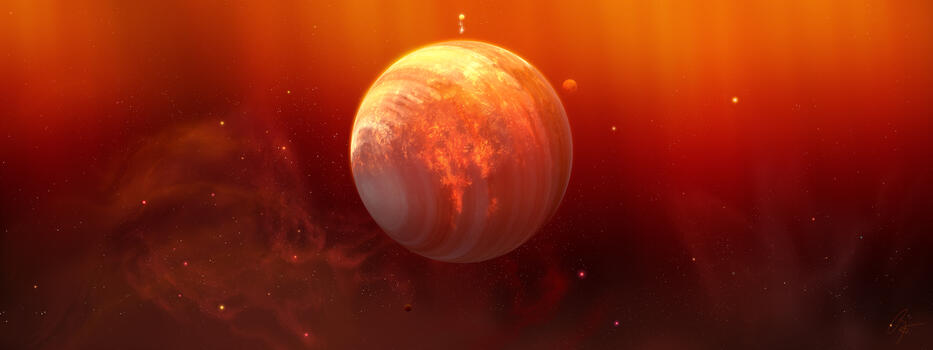 Фото бесплатно Digital Universe, девиант арт, планета