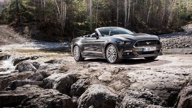 Заставки наземный транспорт, Ford Mustang, обои