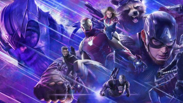 Photo free Avengers Endgame, Iron Man, superheroes