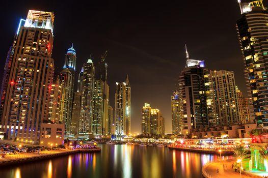 Заставки Дубай, ОАЭ, город
