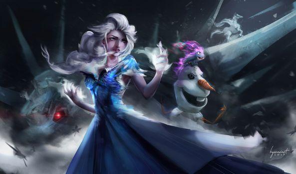 Фото бесплатно Frozen 2, фильмы, 2019 Movies