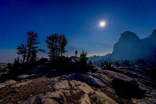 Photo free Moon, desert, Ansel Adams