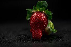 Заставки клубника, ягоды, свет