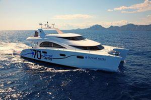 Фото бесплатно море, яхта, пейзаж