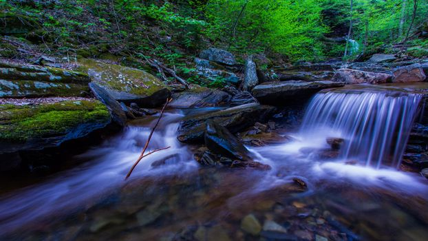 Заставки река, водопад, течение