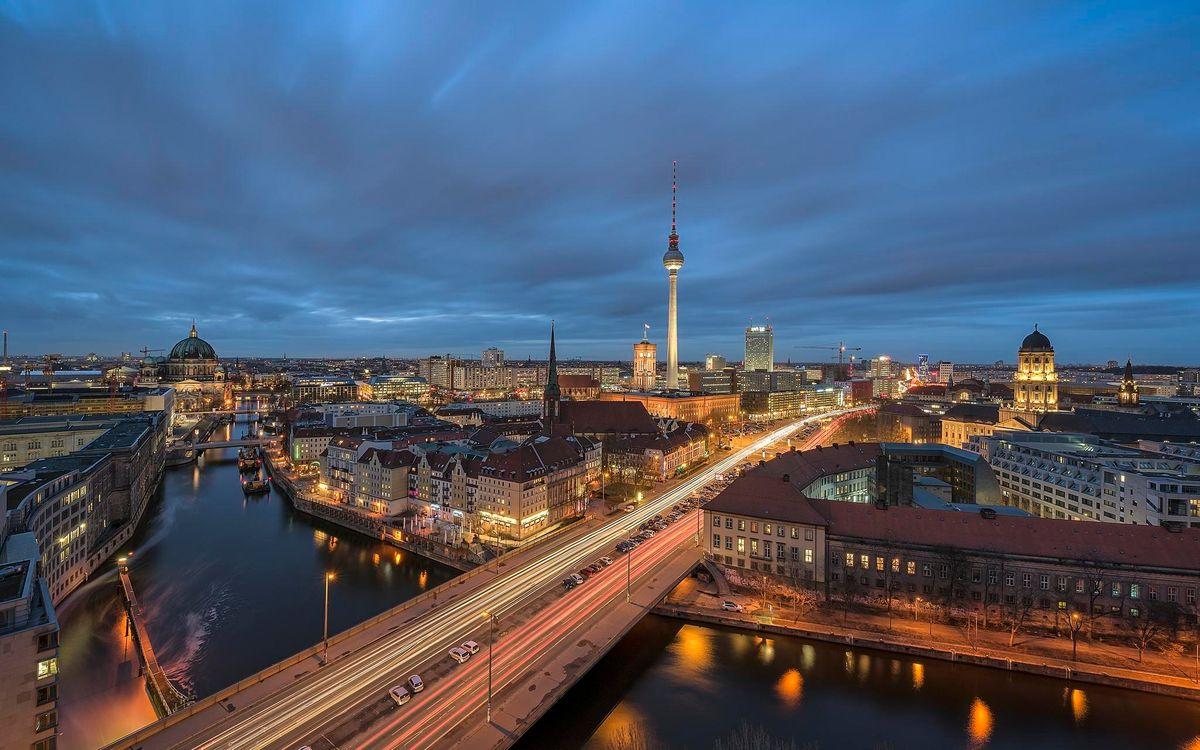 Фото бесплатно Берлин, архитектура, Германия, город