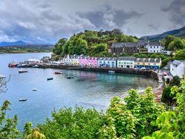Бесплатные фото Портри,Остров Скай,Шотландия
