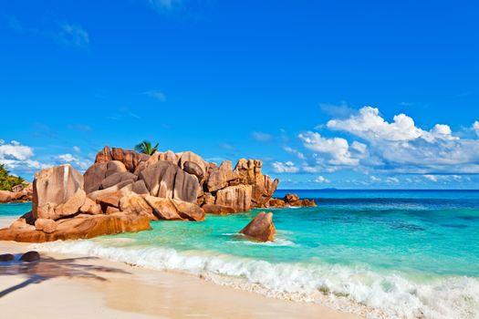 Заставки пляж, остров, сейшелы
