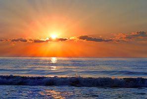 Бесплатные фото море, закат, пейзаж