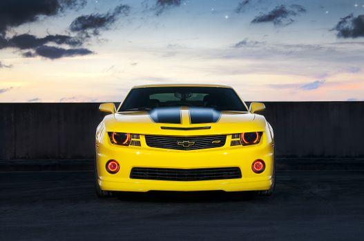 Фото бесплатно Chevrolet Camaro, мышцы, автомобили