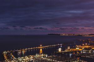 Бесплатные фото Аликанте,Испания,море,ночь,alicante,spain,sea