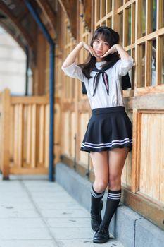 Photo free girls, schoolgirl, pose