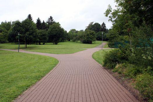 Photo free asphalt, alley, road