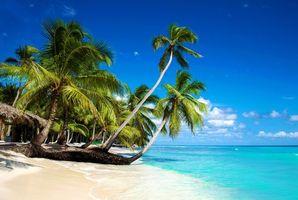 Бесплатные фото Blue,Caraibi,солнце,берег,море,песок,пляж