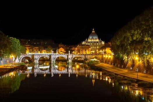 Photo free Ponte St Angelo, Rome, Italy