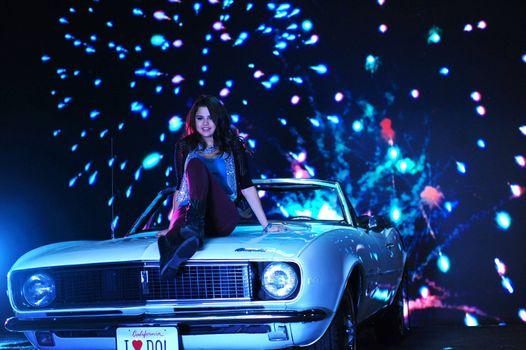 Фото бесплатно Селена Гомес, автомобиль, музыка