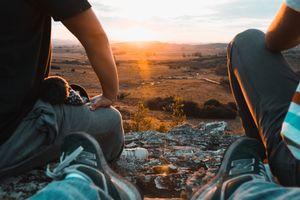 Фото бесплатно закат солнца, солнце, Рыжих